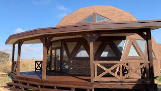 Заозерное купол 12м обзор 360