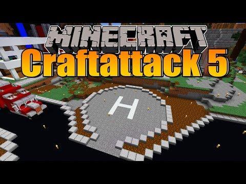 Der Helikopter Landeplatz! - Minecraft Craftattack 5 #55