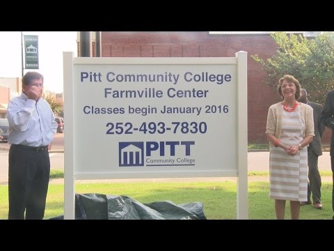 Pitt Community College to Expand to Farmville