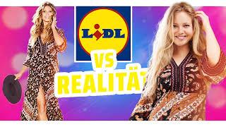 HEIDI KLUM vs REALITÄT I Sommer Lidl Kollektion