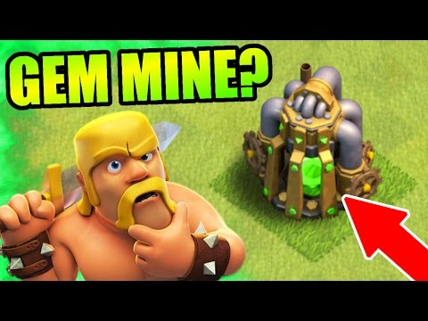 Clash Of Clans - OMG!! THIS CANT BE REAL? - NEW GEM MINE RUMORS! - CoC September 2016 Update