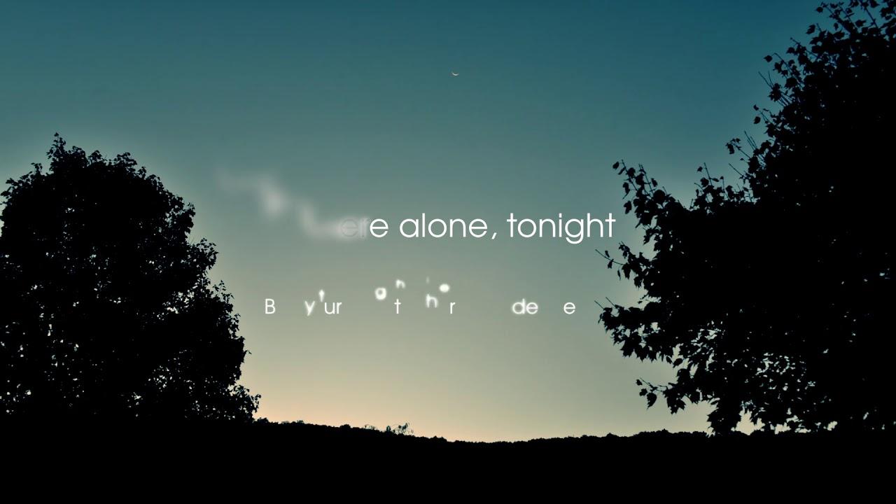 Danni Nicholls - Wish I Were Alone (Lyric Video)