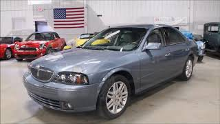2004 Lincoln LS Blue