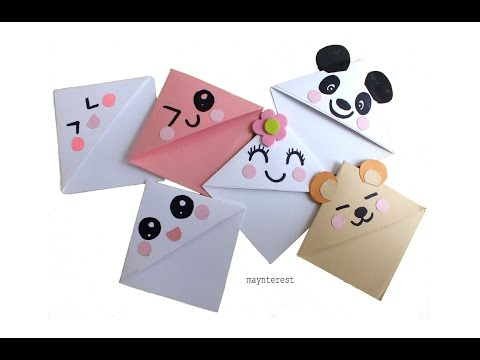DIY Kawaii BOOKMARKS