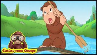 Curioso come George 🐵Lo specchio magico 🐵Cartoni Animati per Bambini 🐵George la Scimmia