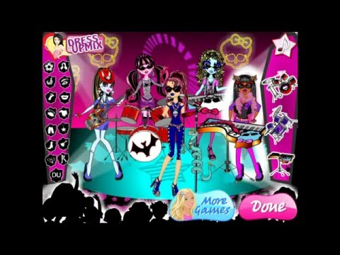 Monster High Rock Band Anime - FRIV.com Online Games by ...
