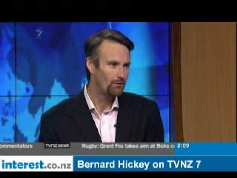 Bernard Hickey on TVNZ 7