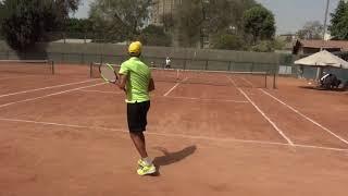 Hassan Badran - College Tennis Recruitment Video - Fall 2019