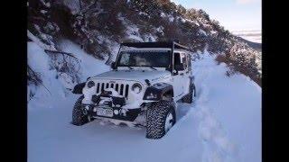 Snow Wheelin in Western Colorado