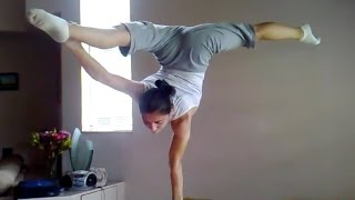 Amazing hand balancing practice, unbelievable strength & skill! (People are Awesome)