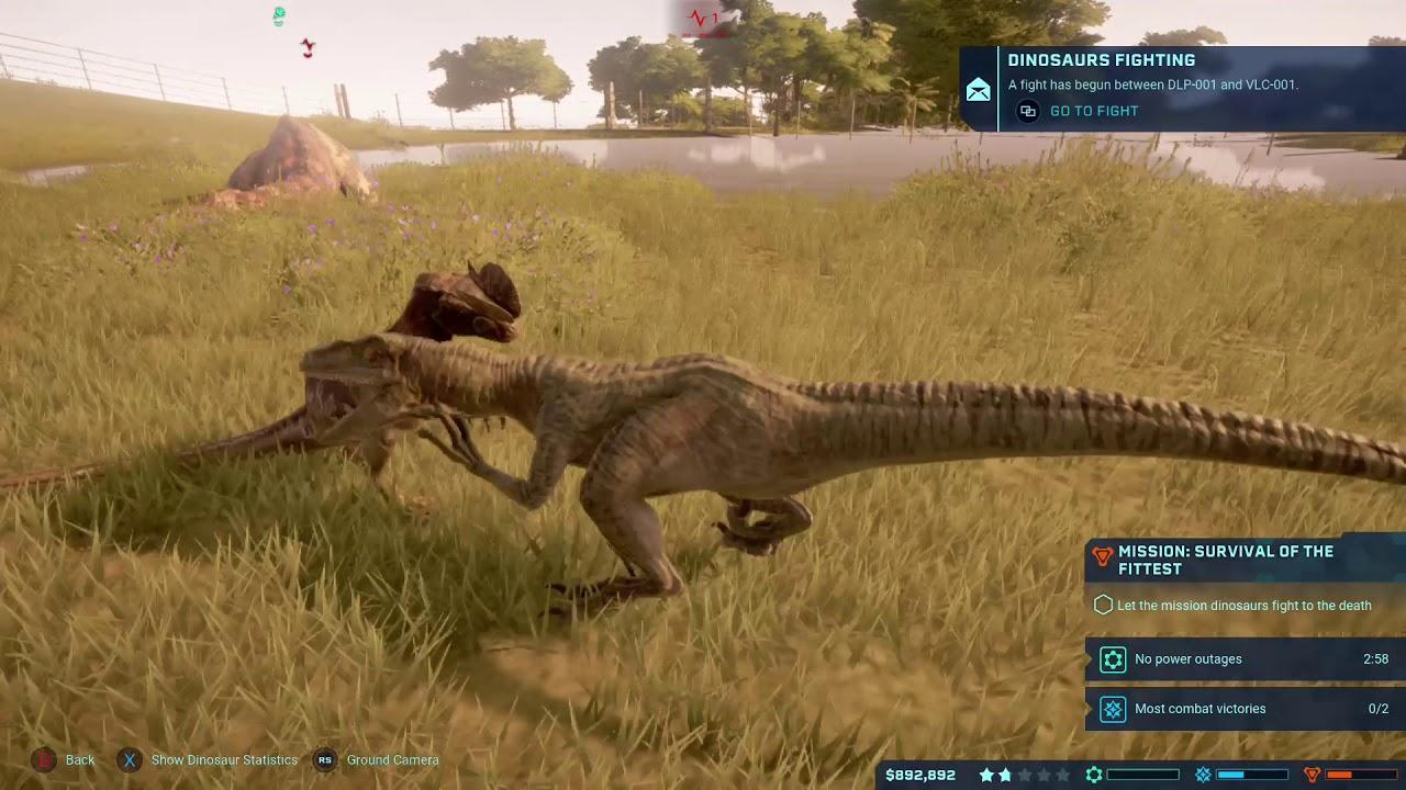 velociraptor vs dilophosaurus jurassic world evolution xbox one gameplay youtube velociraptor vs dilophosaurus jurassic world evolution xbox one gameplay