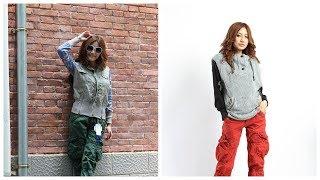 #Женская одежда на #AliExpress Брюки - карго на молнии