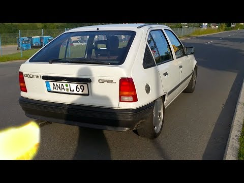 Opel Kadett E 2.0l 16V C20Let Turbo Acceleration & Sound
