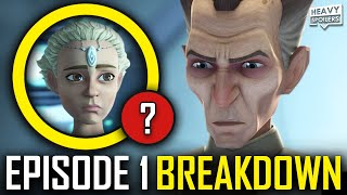 STAR WARS The Bad Batch Episode 1 Breakdown | Ending Explained, Easter Eggs And Things You Missed