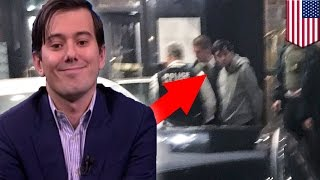 Martin Shkreli arrested on fraud charges: Feds raid drug company CEO's home - TomoNews