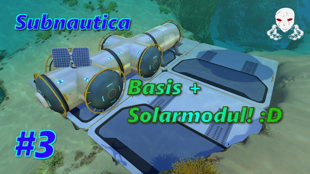 Let´s Play Subnautica #3 Konstruktionswerkzeug und erste Basis + ...