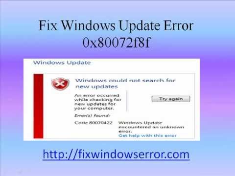 windows 7 pro activation error 0x80072f8f
