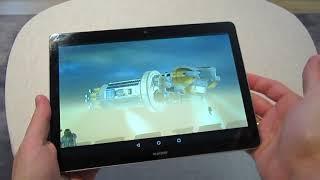 Huawei MediaPad T3 10, розпакування та огляд. Планшет не для геймерів