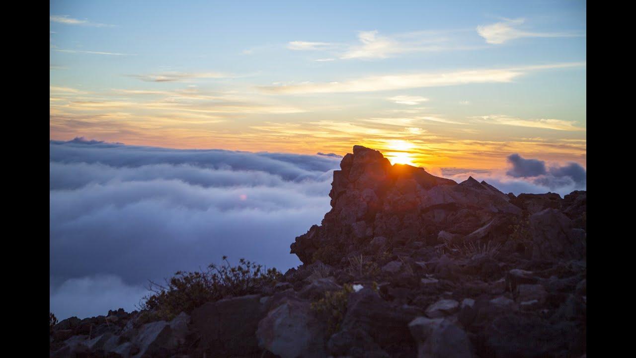 Haleakala national park maui hawaii sunrise timelapse youtube publicscrutiny Image collections