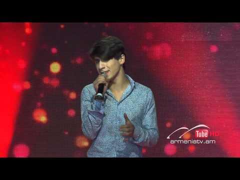 Aram Ginosyan,Historia De Un Amor by Luis Miguel - The Voice Of Armenia - Blind Auditions - Season 2