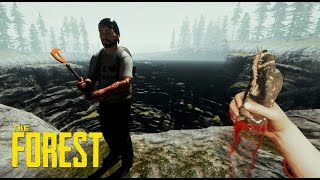 THE FOREST - UN AGUJERO DE 1 KILOMETRO!!! WTF #1 - NexxuzWorld