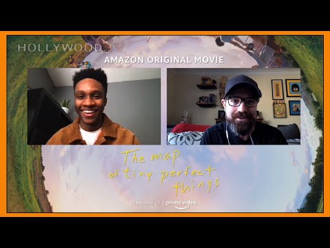 JERMAINE HARRIS talks THE MAP OF TINY PERFECT THINGS!! - Hollywood TV