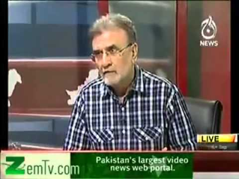 Maulana Tariq Jameel call to anchor Nusrat Javed