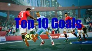 FIFA Street 4 Top 10 Goals