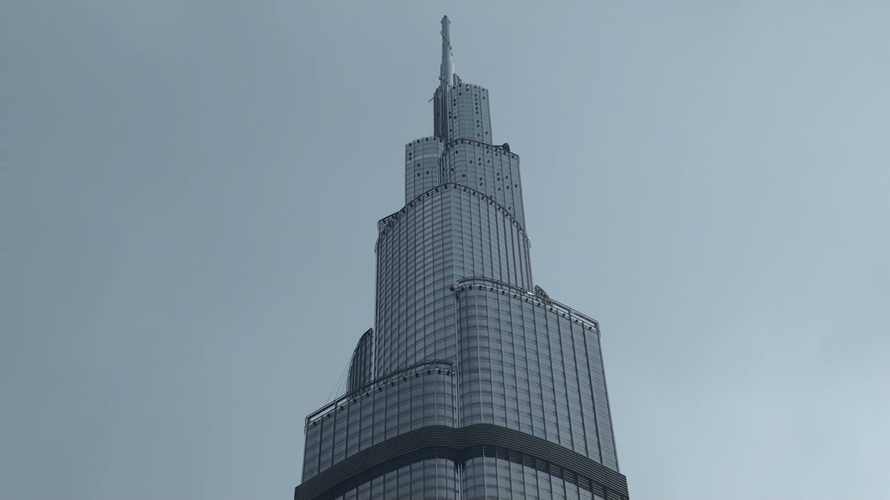 burj khalifa in dubai (full hd) - youtube