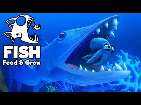 Feed and Grow Fish Gameplay German - Level 300 Barracuda