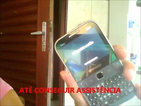 Celular Samsung Chat 527 Com Problema