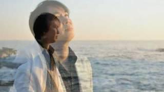 夕陽が燃える日本海