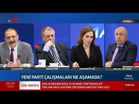Ümit Özdağ ekibinde kimlerin olacağını ilk kez tv100'de açıkladı