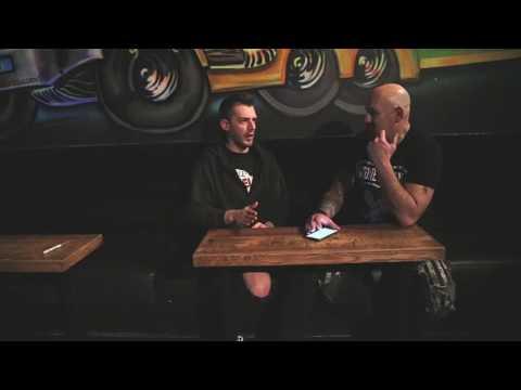 Stone Broken interview, Glasgow