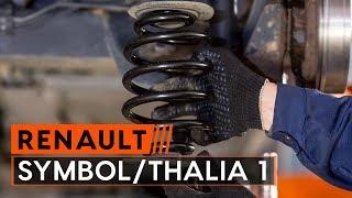 Installazione Molla sospensione autotelaio anteriore sinistro destro RENAULT SYMBOL / THALIA: manuale video