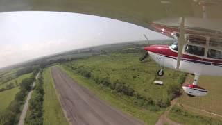 Cessna 172xp Takeoff from Retalhuleu, Guatemala