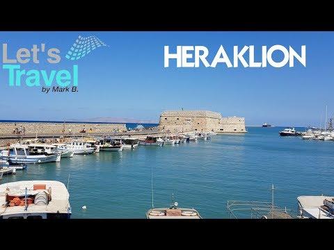 Heraklion - City Tour 2018 (Crete/Greece) | Let's Travel
