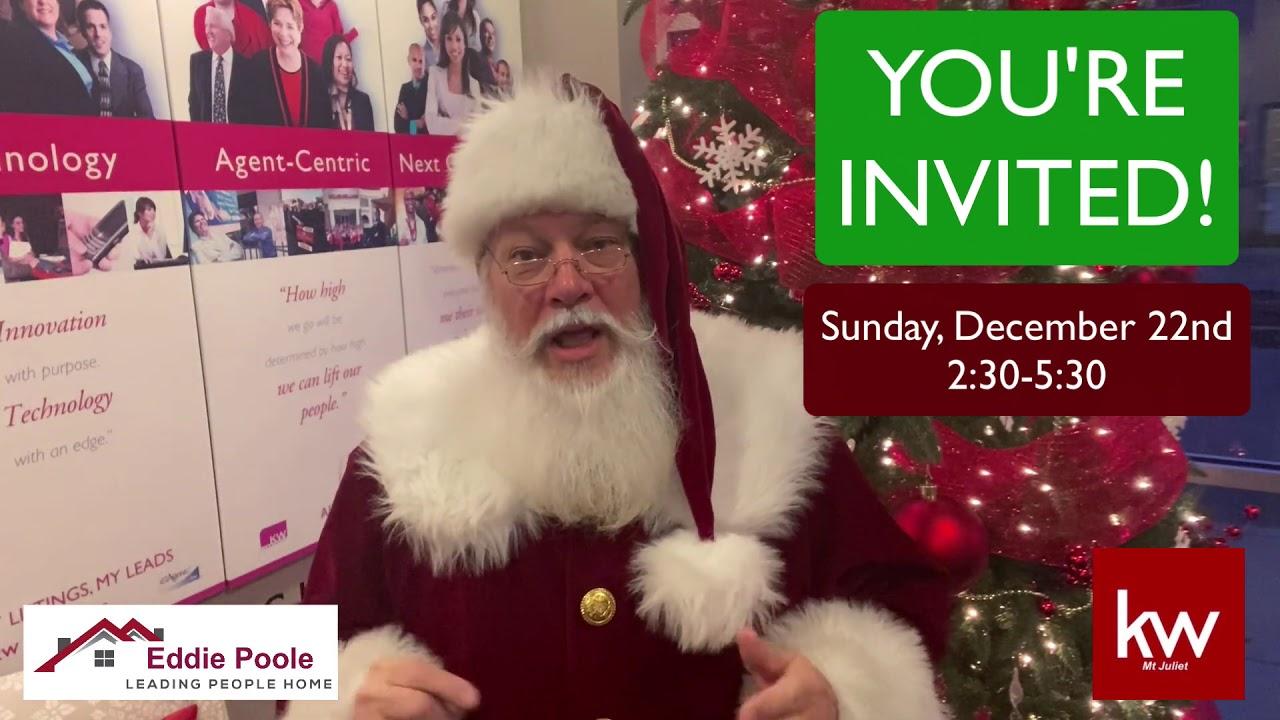 Invitation To See Santa!