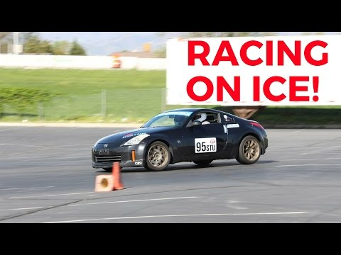 A Day In a 350Z Autocrossed Turned Into a Drift Event!