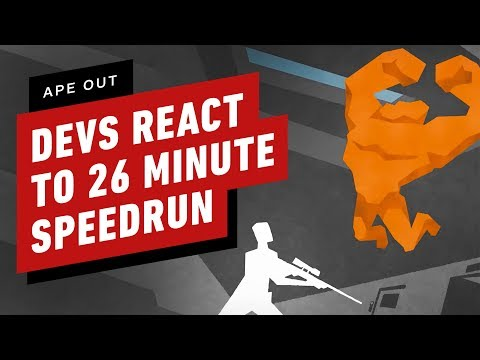 Ape Out Developers React to 26 Minute Speedrun