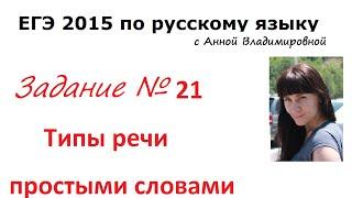 21 задание ЕГЭ 2015 русский язык (простыми словами)