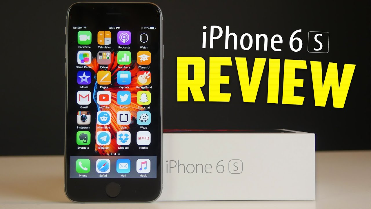 Iphone 6s Review Apple 2015 128gb Space Grey