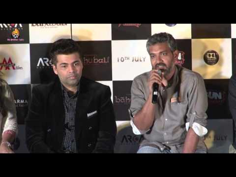 Baahubali Movie - Trailer Launch - Karan Johar - Prabhas - Rana Daggubati - SS Rajamouli