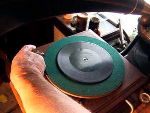 Berliner Gramophone Record 1895 - Banjo by Stephen Clements - Belles of Virginia