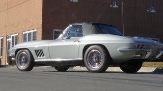 1967 Corvette Roadster For Sale~327/300~4 Speed~Posi Rear~5 NCRS Top Flight Awards!