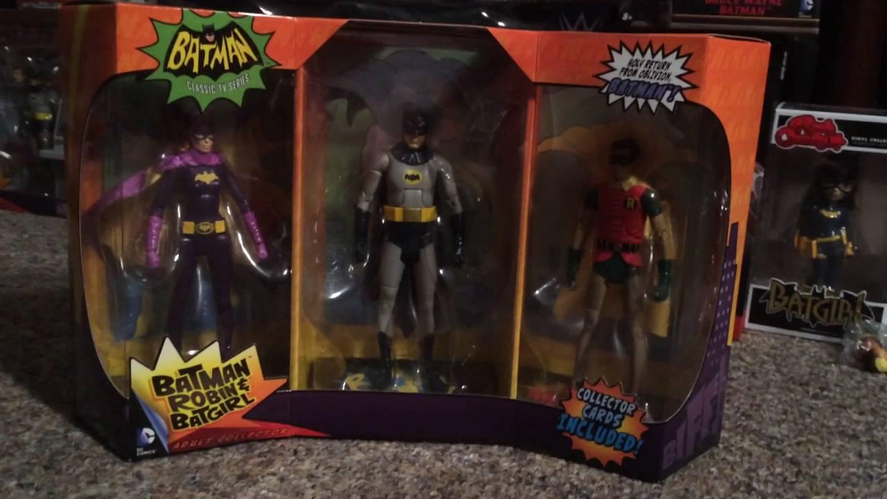 Batman Classic Batman Robin And Batgirl