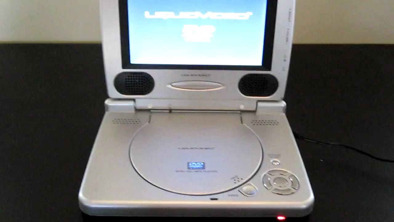 Liquid Video Portable DVD Player - YouTube