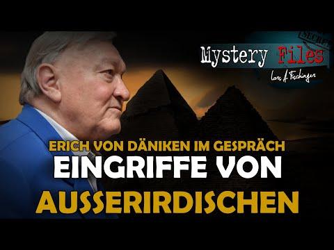 Lars A. Fischinger: Exklusiv-Interview mit Erich von Däniken: Eingriffe der Außerirdischen bis heute