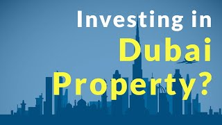 Dubai Luxury Property Investments - Is it Profitable? | Things you need to know