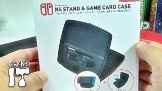 닌텐도 스위치 겜맥 충전 게임 스텐드 & 게임팩 케이스 구입 리뷰
